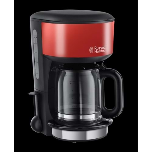 RUSSELL HOBBS COLOURS PLUS COFFEE MAKER RED 20131...