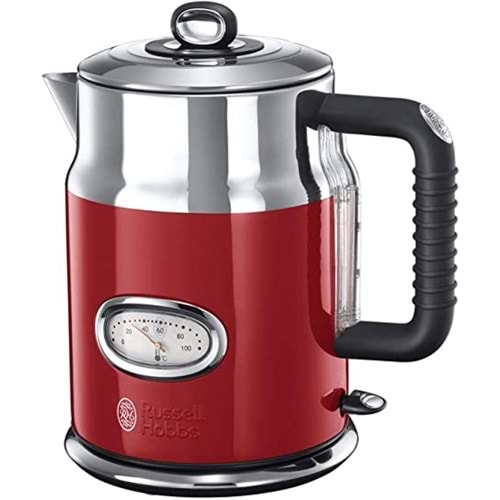 RUSSELL HOBBS RETRO KETTLE RED 21670....