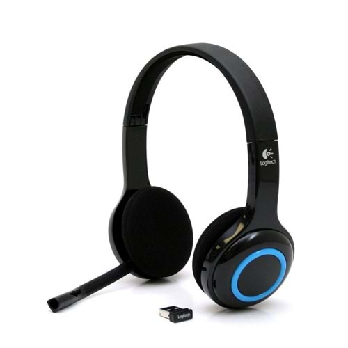 KULAKLIK LOGİTECH H600 WIRELESS HEADSET 981-000342