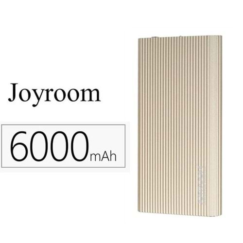 JOYROOM POWER BANK 6000 MAH GOLD