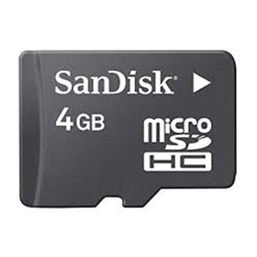 SANDİSK 4GB MİCRO SD CARD