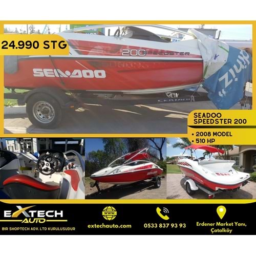 SEADOO SPEED 200 2008 MODEL 510 HP